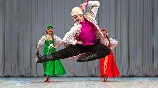 Сюита старинных русских танцев. Балет Игоря Моисеева.