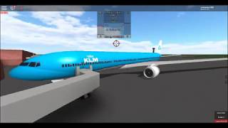 Roblox Place With Airliners KLM 2829 flight SERE to FEBS part 2