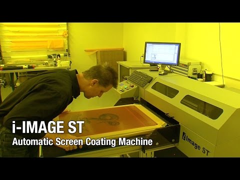 i-Image ST Computer-to-Screen Imaging Unit - CTS - M&R Screen Printing Equipment