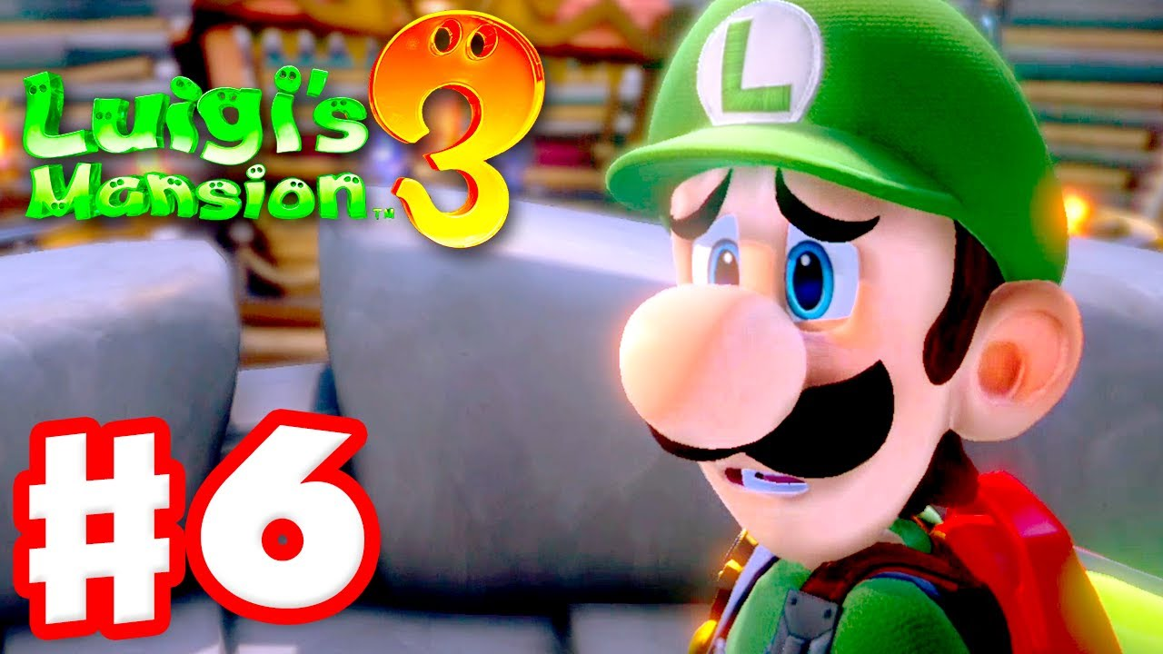 Luigi S Mansion 3 Gameplay Walkthrough Part 6 6f Castle Macfright Nintendo Switch