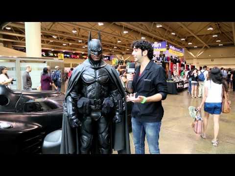 Brampton Batman (Stephen Lawrence) Interview at Fan Expo Toronto