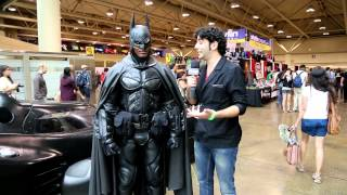 Brampton Batman (Stephen Lawrence) Interview at Fan Expo Toronto