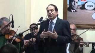 فوق الشوك مشانى زمانى - غناء الفنان فتحى شرف (العندليب) - صالون المنارة 6/1/2016