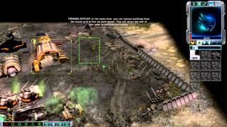 [PC Longplay] Command & Conquer 3:Tiberium Wars[GDI] - Prologue - Mission 1 North Carolina Badlands