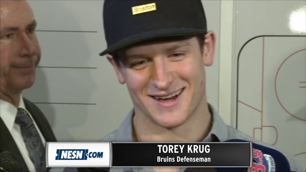Torey Krug Break Up Day Interview After Bruins' Stanley Cup Loss