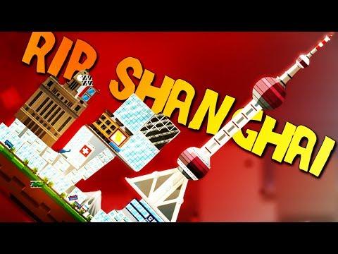 EARTHQUAKE LEVELS SHANGHAI - BalanCity Gameplay - Shanghai Scenario