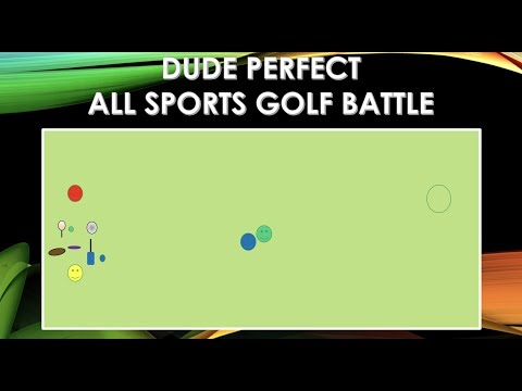 Dude Perfect All Sports Golf Battle PE Game