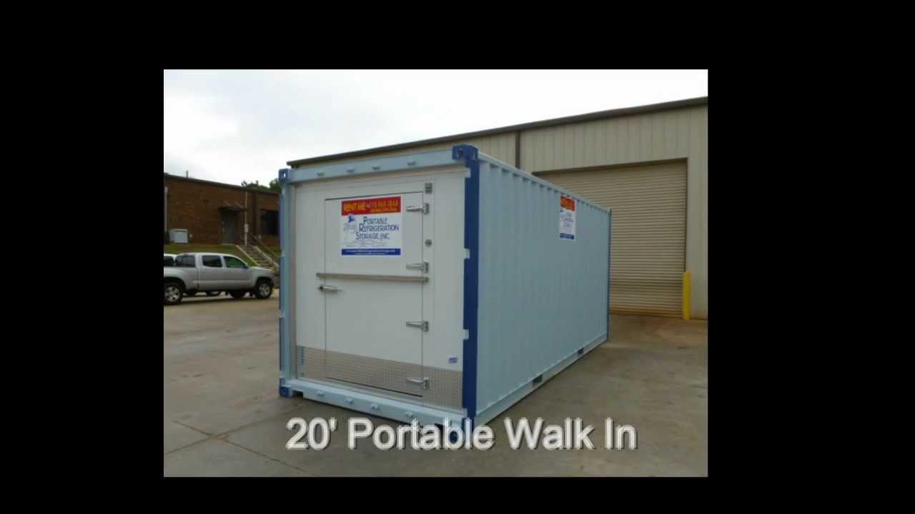 Portable Walk In Coolers & Freezers