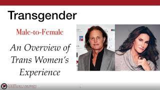 "Loveology University – ""Transgender Male to Female"" Course Sneak Preview"