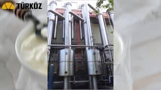 Yoğurt Evaporatörü - Yoghurt Evaporator - Türköz Machinery