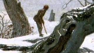 Franz Schubert, Einsamkeit-Winterreise, Caspar David Friedrich