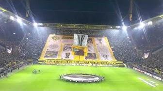 Choreo Borussia Dortmund vs. FC Porto | 18th February 2016 | Europa League