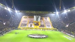 Choreo Borussia Dortmund vs. FC Porto | 18th February 2016 | Europa League