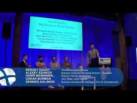 Panel: Virtual Reality – Big Money Or Niche Market?