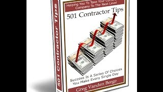 Working With Local Banks - Contractor Business Tip #150