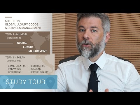 Master in Global Luxury Goods & Services Management (MGluxM)