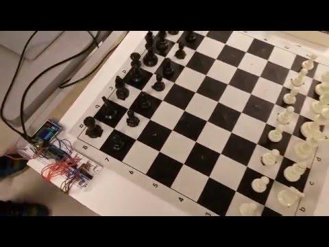 Chess board -- magnetic sensing