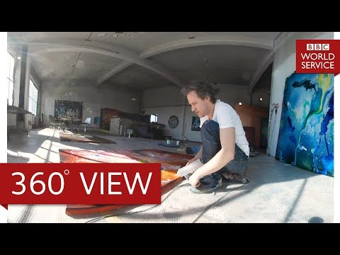 Artist Christian Awe in 360° – The Arts Hour on Tour 360° – BBC World Service