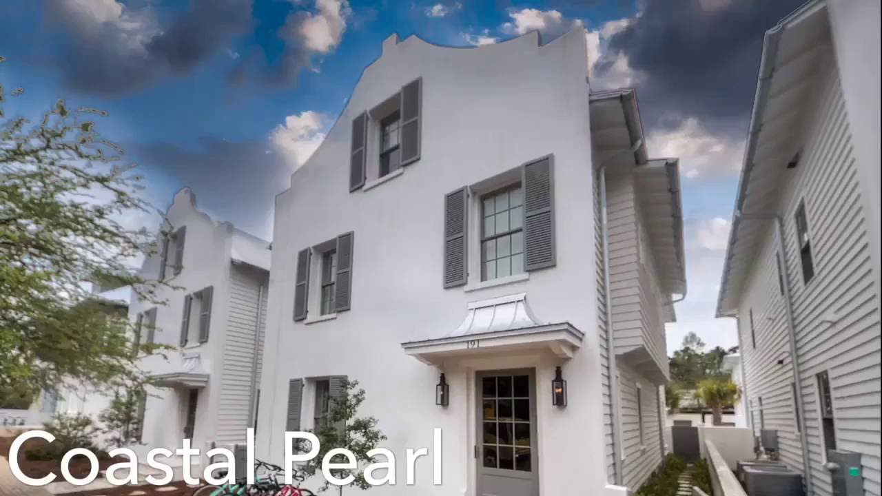 30a Fl Rosemary Beach Vacation Al House With Private Pool Coastal Pearl