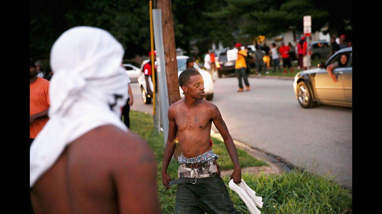 Ferguson  glaçant portrait de Darren Wilson par le New