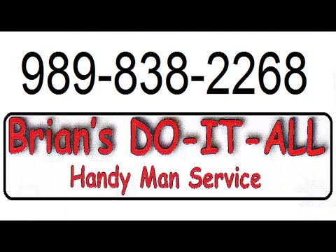Handyman Services for Lansing MI, Holt MI, Grand Ledge MI, Mason MI.