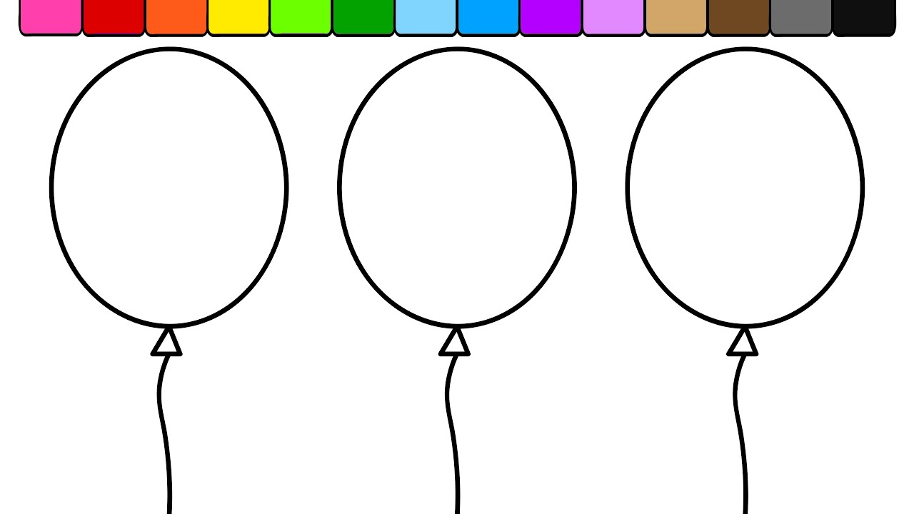 Learn Colors for Kids and Color Balloon Ice Cream More
