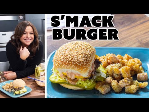 Rachael Ray Makes A S'mack Burger And Tater Tots | 30 Minute Meals