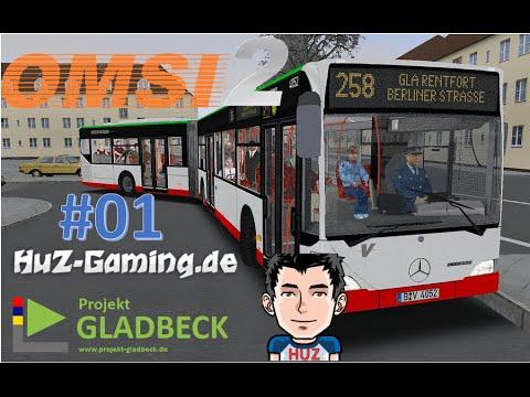 OMSI 2 GLADBECK ADDON #01 - Erstmal reintasten! |