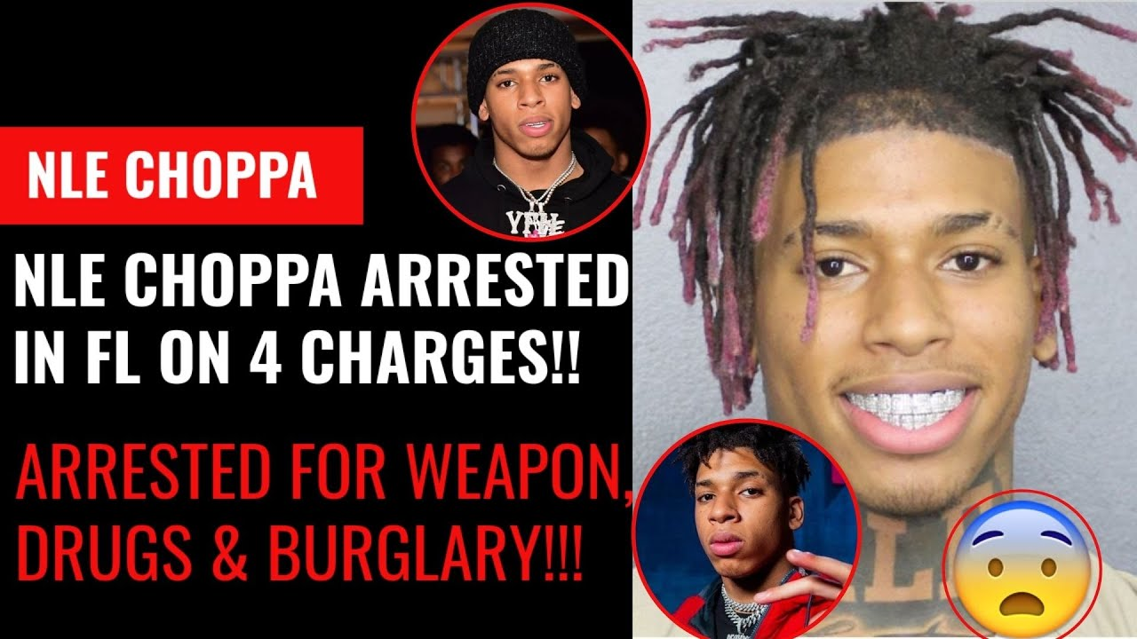 Rapper NLE Choppa Arrested on Weapons, Drug Charges