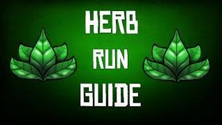 RuneScape 3 | Herb Run Guide | Skiller Friendly!