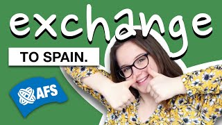 my exchange experience to spain with afs