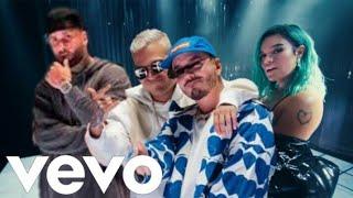 LE compre UNOS pantis PA que MODELE remix - J Balvin, Karol G, Nicky Jam, Crissin (Video Oficial)