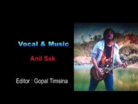 Hijako Banda Arjaw Timilai - Anil Ssk ( Lyrics Video )