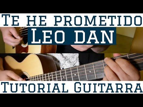 Te He Prometido - Tutorial de Guitarra ( Leo Dan ) Para Principiantes