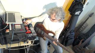 Steve Lawson - Solo Bass + Looping Improv.
