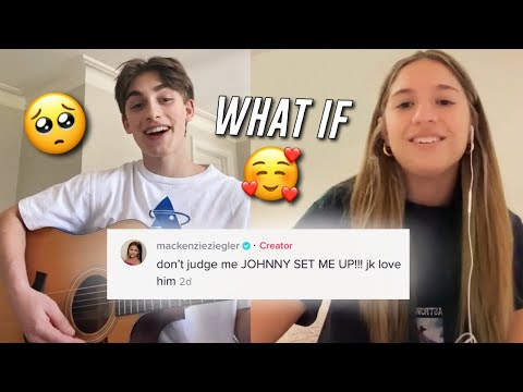 JOHNNY & KENZIE SING WHAT IF TOGETHER!!🥺❤️