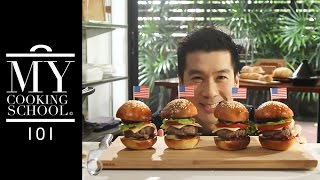 My Cooking School 101 Ep16 : Hamburger