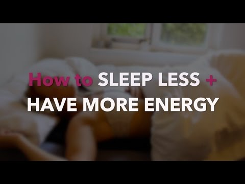 Polyphasic Sleep – How to Sleep Less + Have More Energy