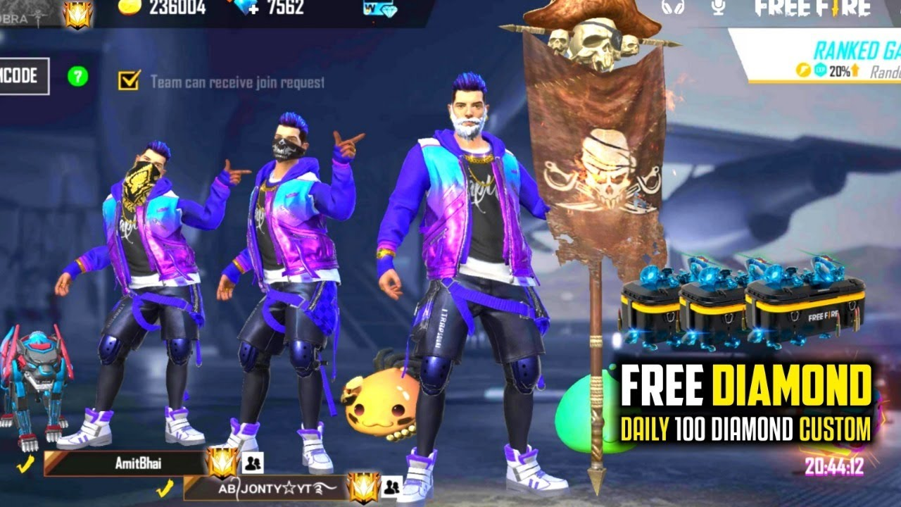 Garena Free Fire Live - Subscribe and Join Total Army