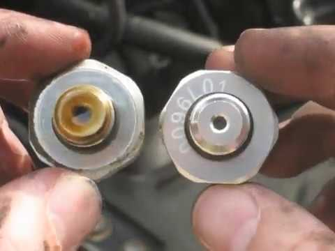 Low oil pressure shut off engine - Bad Oil Pressure Sensor - Chevy Impala