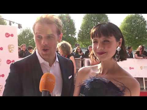 Bafta TV Awards 2018: Sam Heughan and Caitriona Balfe talk Outlander series 4 | London Live
