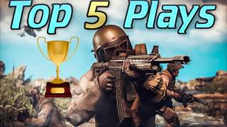 Warface - Top 5 Plays ( Episode 1 )
