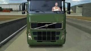 18 wheels of steel haulin volvo fh16 660 timber truck combo