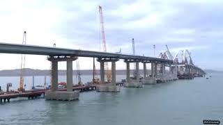 Полет над Крымским мостом 05 12 17