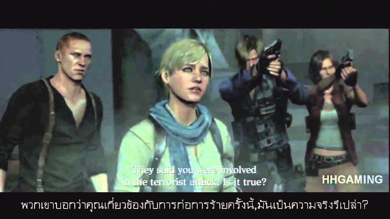 Photo of เรื่อง ย่อ ภาพยนตร์ เป็น ภาษา อังกฤษ – Resident evil 6 The movie [sub Eng+Th] เดิน 4 เนื้อเรื่องไปพร้อมกัน