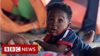 The Africans risking death in jungle trying to reach US - BBC News