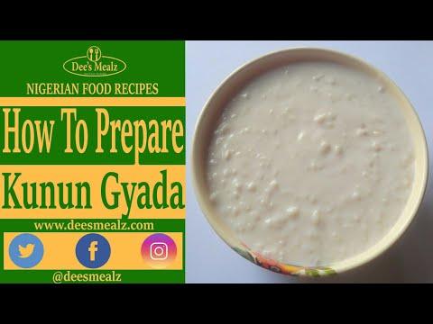 Download Kunun Gyada : Groundnut Milk and Rice Drink