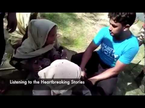 Charity Right | Rohingya - Emergency Food Pack Distribution Part 1