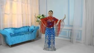 Он-лайн урок по танцам Болливуд - Лал дупатта, от ZDStudio