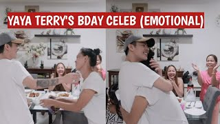 "Yaya Terry's B-day Celebration ""ano ang regalo ko Emotional"""